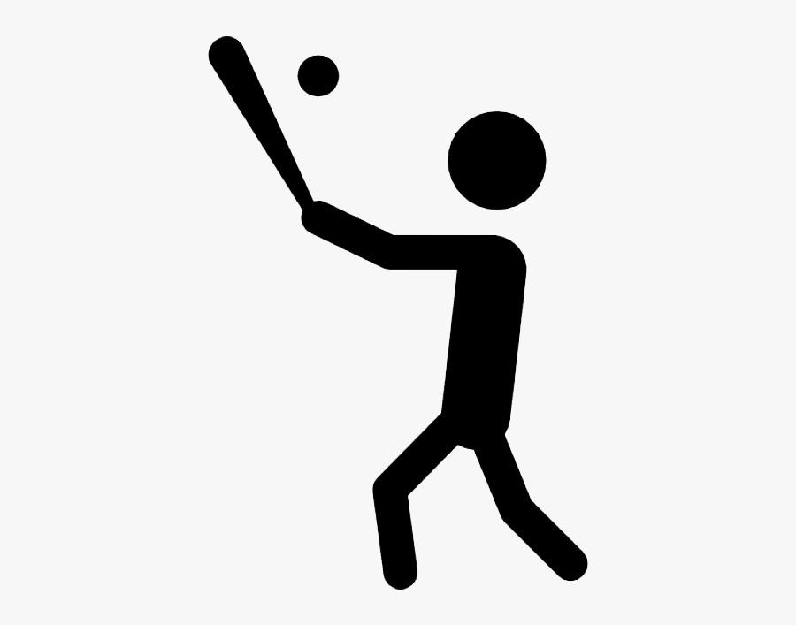 Hitting A Soccer Ball With A Bat, Transparent Clipart