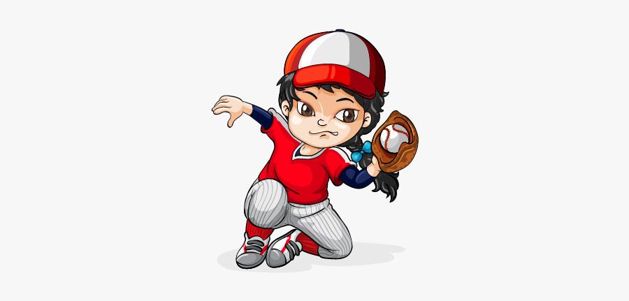 Baseball Softball Pitcher Clip Art - Importance Of Sports Drawing, Transparent Clipart