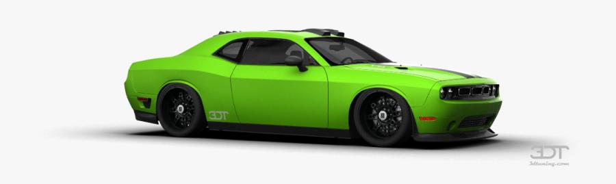 Compact Car Sports Design Automotive Muscle Clipart - Dodge Challenger, Transparent Clipart