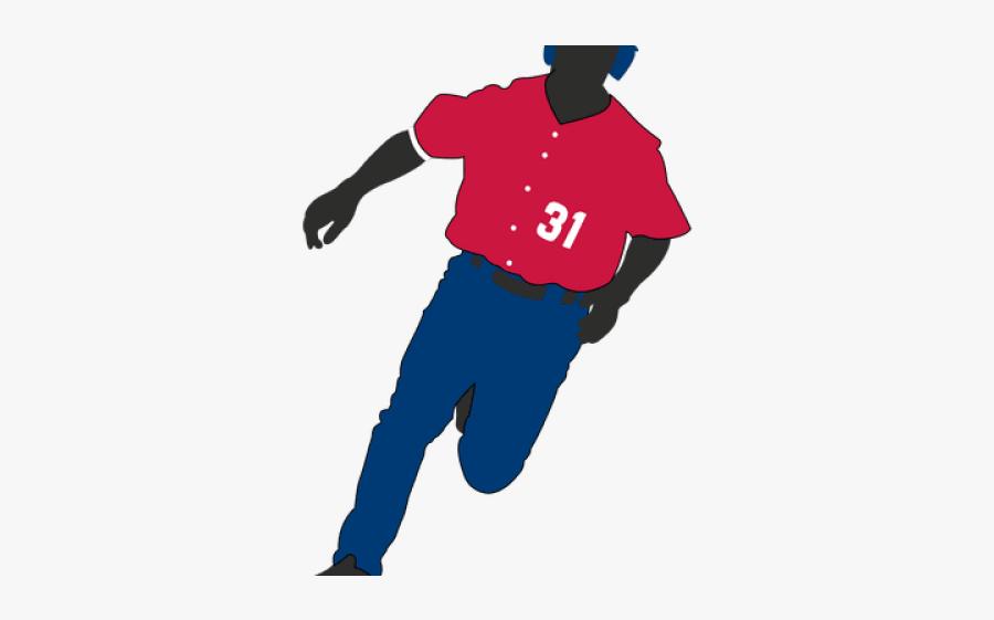 Baseball Player Clipart - Winter Sport, Transparent Clipart