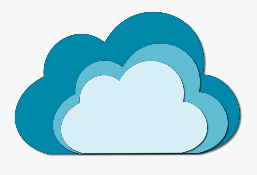 Free To Use & Public Domain Cloud Clip Art - Clouds Clipart Shaded, Transparent Clipart