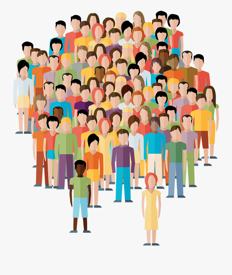Image result for crowd of people clipart