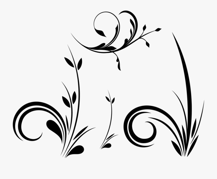 Flowers, Garden, Leaves, Floral - Garden, Transparent Clipart