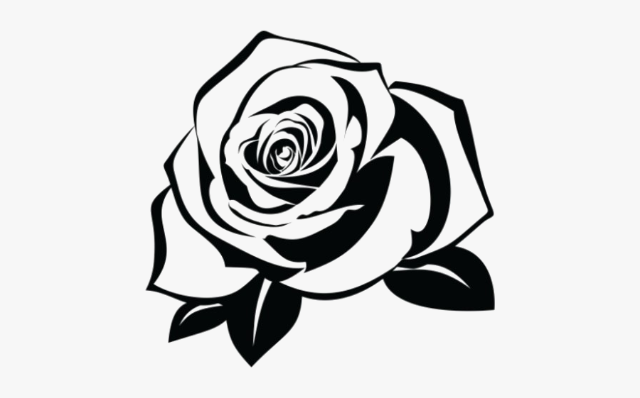 White,black And White,rose,monochrome Photography,black,garden - Hand Rose Tattoo Png, Transparent Clipart