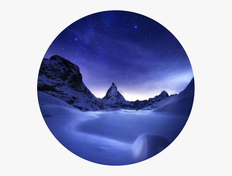 #tumblr #landscape #circle #beautiful #nature - Nature Picture Circle Png, Transparent Clipart