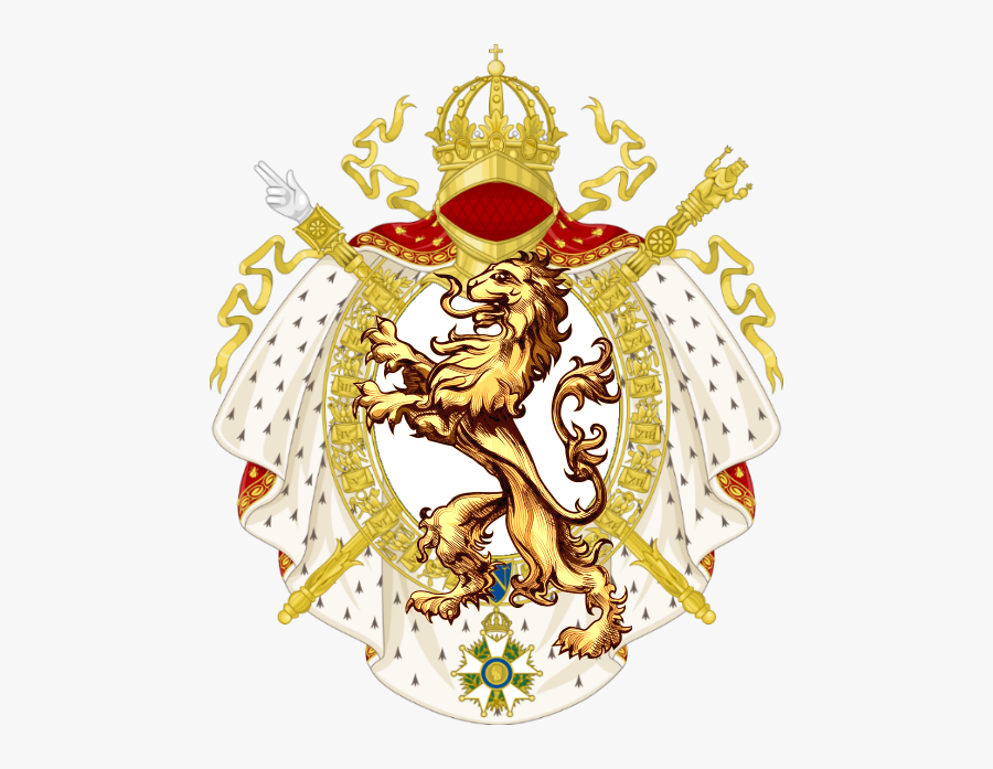 Blason Adagio 1st - French Imperial Coat Of Arms, Transparent Clipart