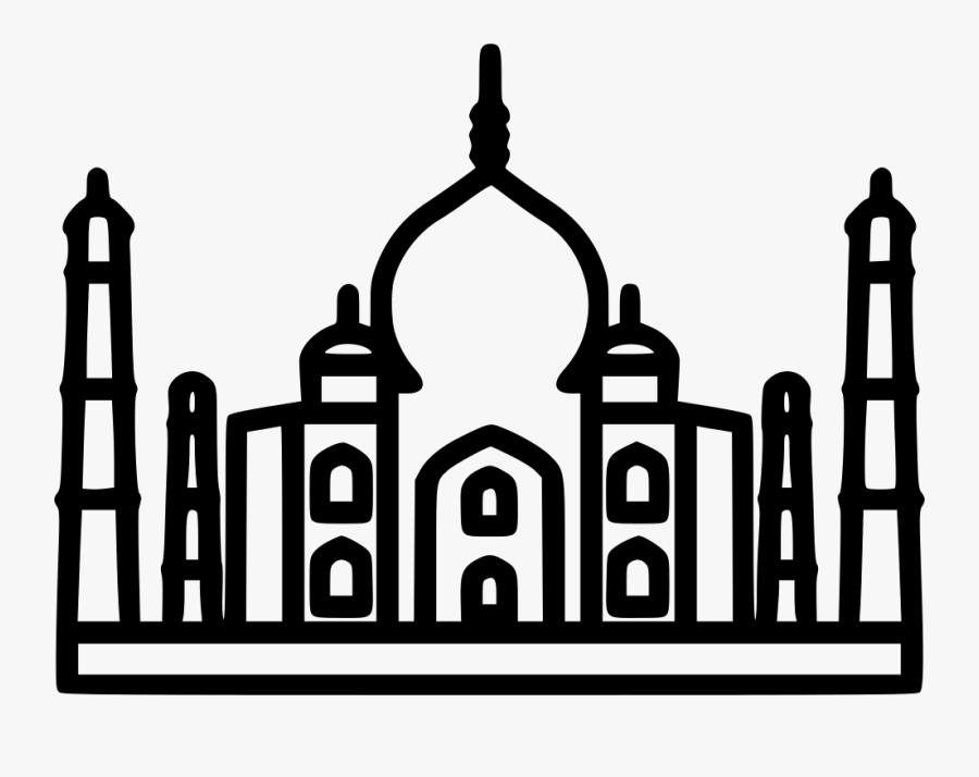 Taj Mahal - Taj Mahal Icon Png, Transparent Clipart