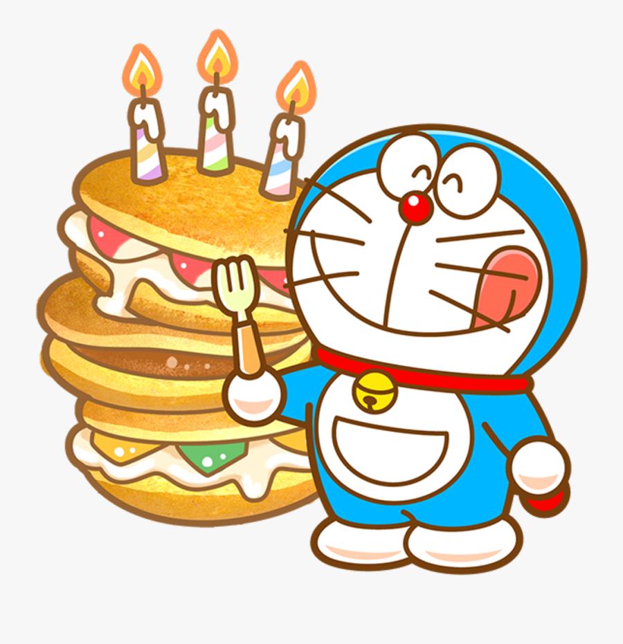 Doraemon Happy Birthday, Transparent Clipart