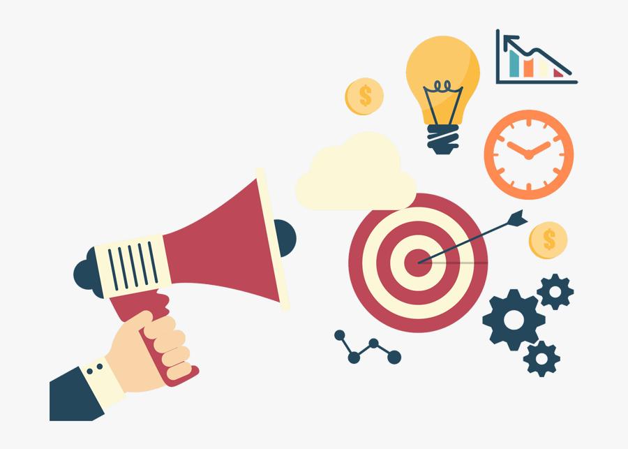 Hosting Website Design Company Digital Marketing Agency - Transparent Background Marketing Plan Icon, Transparent Clipart