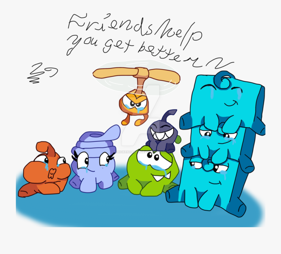 Om Nom And Friends, Transparent Clipart