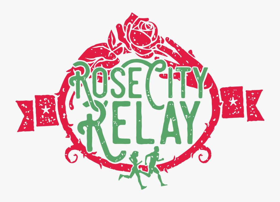 Rose City Relay - Graphic Design, Transparent Clipart