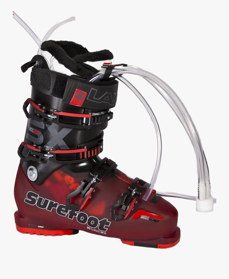 Transparent Ski Boots Clipart - Prix Chaussures De Ski Surefoot, Transparent Clipart
