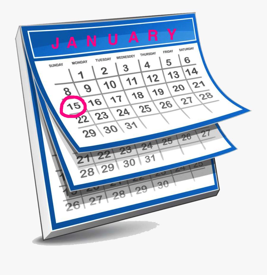 What Happened Depressiondarling Com - 1 Year Calendar Icon, Transparent Clipart