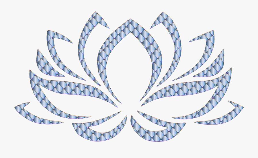 Yoga Clip Art , Png Download - Lotus Flower Hindu Symbols, Transparent Clipart