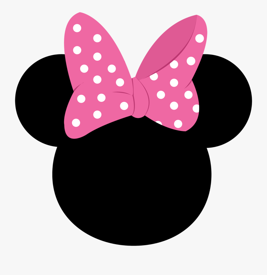 Minnie Mouse Mickey Mouse Number Clip Art - Minnie Mouse Number 3, Transparent Clipart