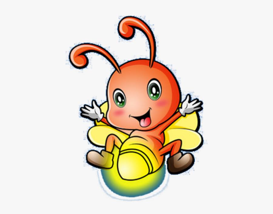 #mq #yellow #firefly #fireflys #light - Cartoon Firefly Clipart, Transparent Clipart