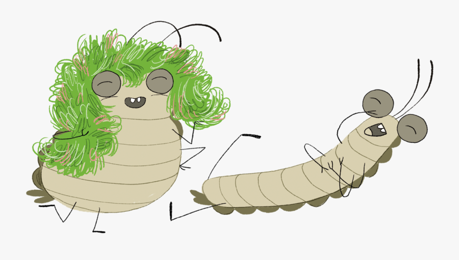 Waxworm, Transparent Clipart
