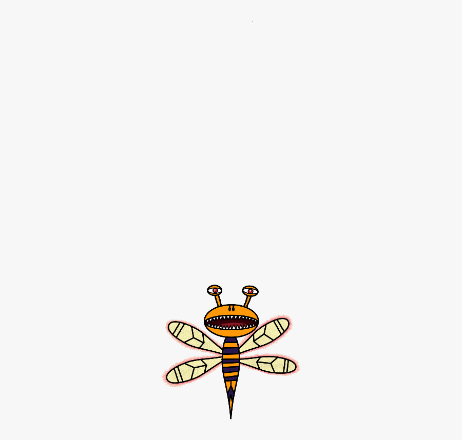Sticker Firefly Freetoedit - Dragonfly, Transparent Clipart