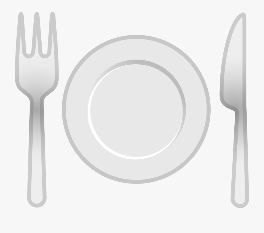 Utensil,household Silver,table Knife,tool,ceramic,still - Fork And Knife Emoji Png, Transparent Clipart