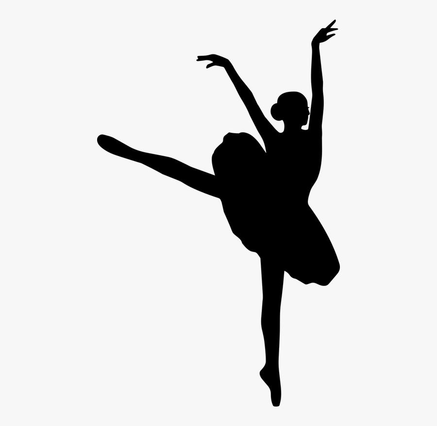 Woman Ballerina Ballet Girl - Ballet Dancer, Transparent Clipart