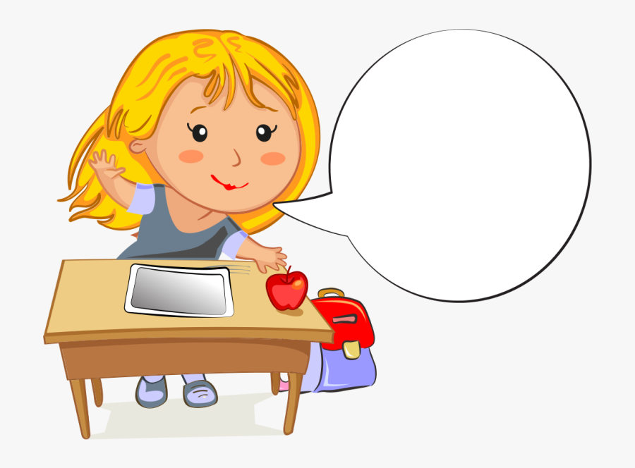 Cartoon Girl Clipart - Year 3 Writing Targets, Transparent Clipart
