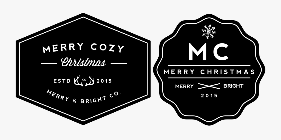 Holiday Gift Tags Png - Sign, Transparent Clipart