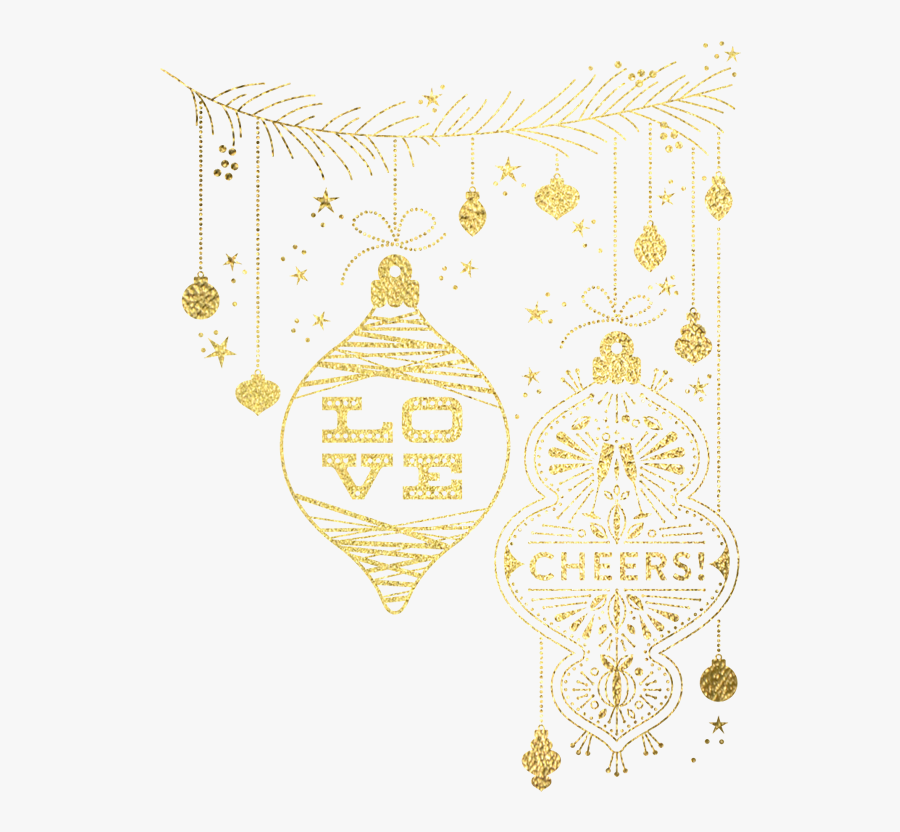 Holiday Gift Tags - Illustration, Transparent Clipart