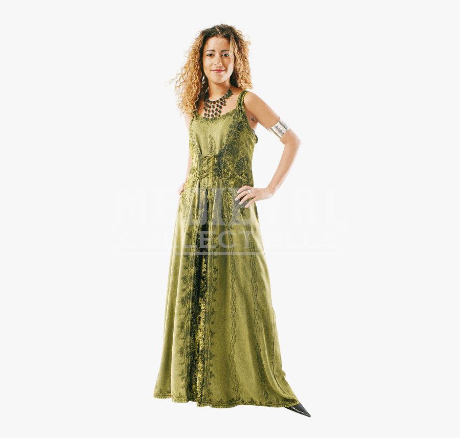 Transparent Summer Wear Clipart - New Age Dress, Transparent Clipart