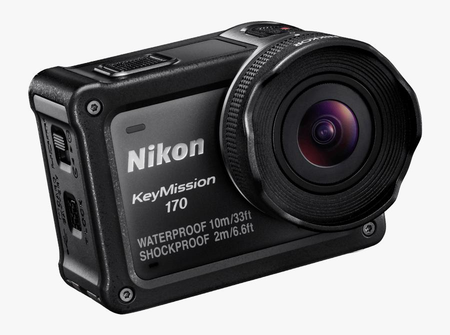 Nikon Clipart Camera Lense - Nikon Gopro, Transparent Clipart