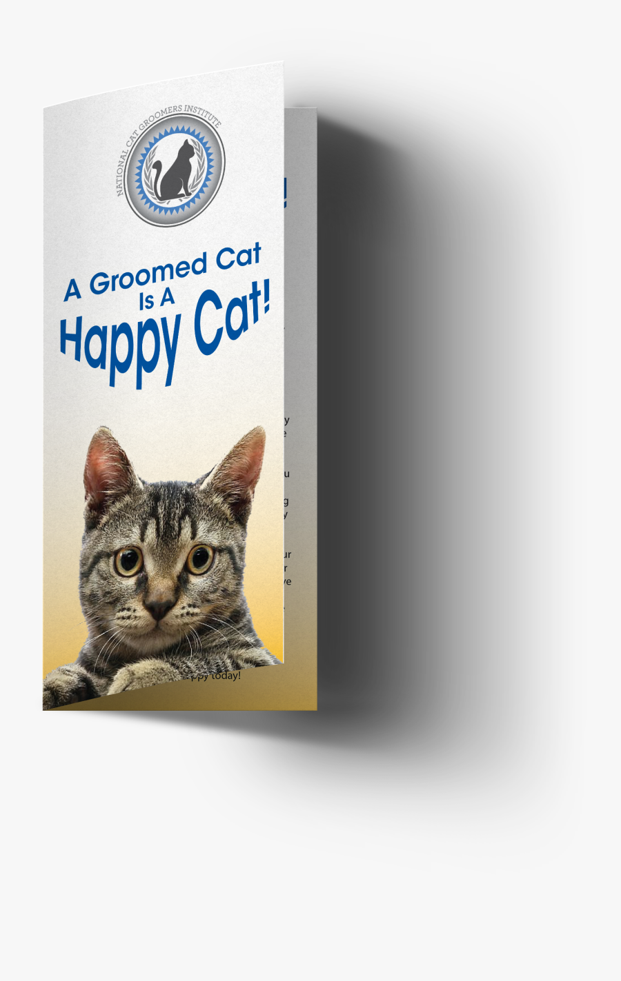 Happy Cat Png - Domestic Short-haired Cat, Transparent Clipart