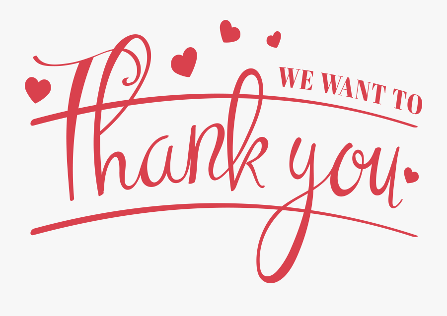 Transparent Thank You For Your Attention Png - Thank You For Your Attention Png, Transparent Clipart