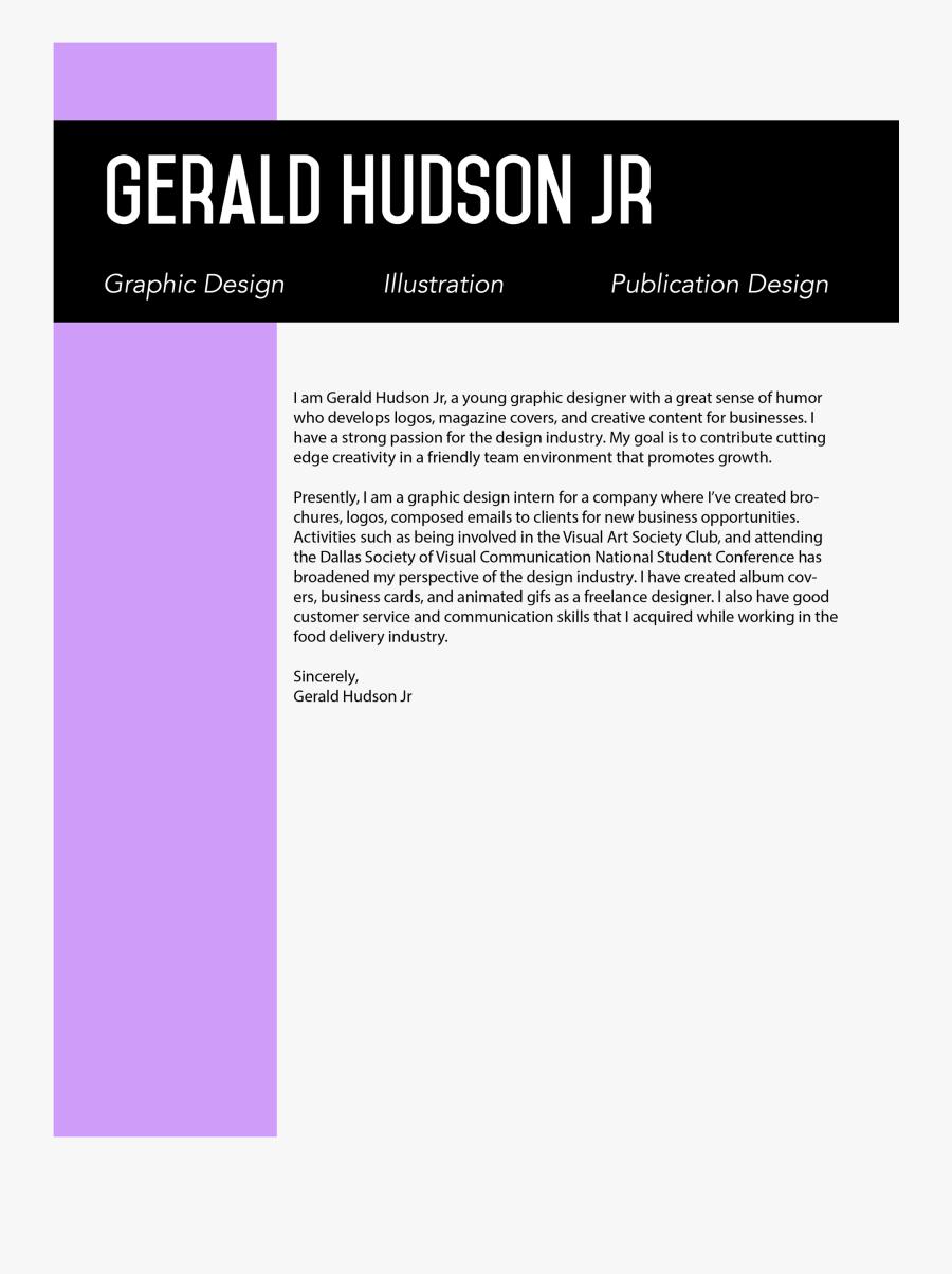 Clip Art Magazine Designer Your Best - Graphic Design Cover Letter, Transparent Clipart