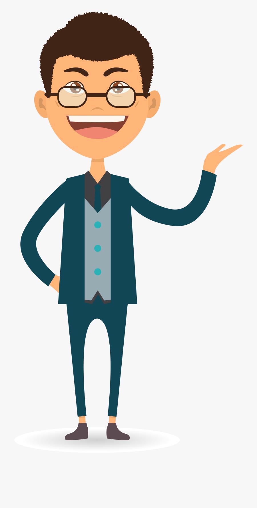 Homme Qui Montre Fonctionnement - Bonhomme Qui Montre, Transparent Clipart