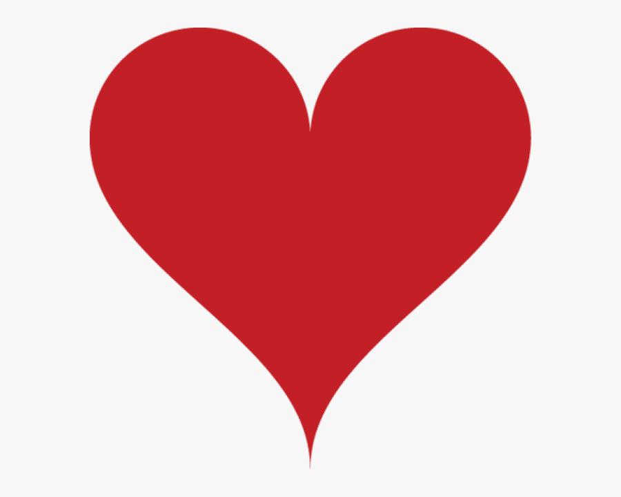 Heart Symbol Clipart Heart Symbol U8riau Clipart - Heart On Deck Of Cards, Transparent Clipart