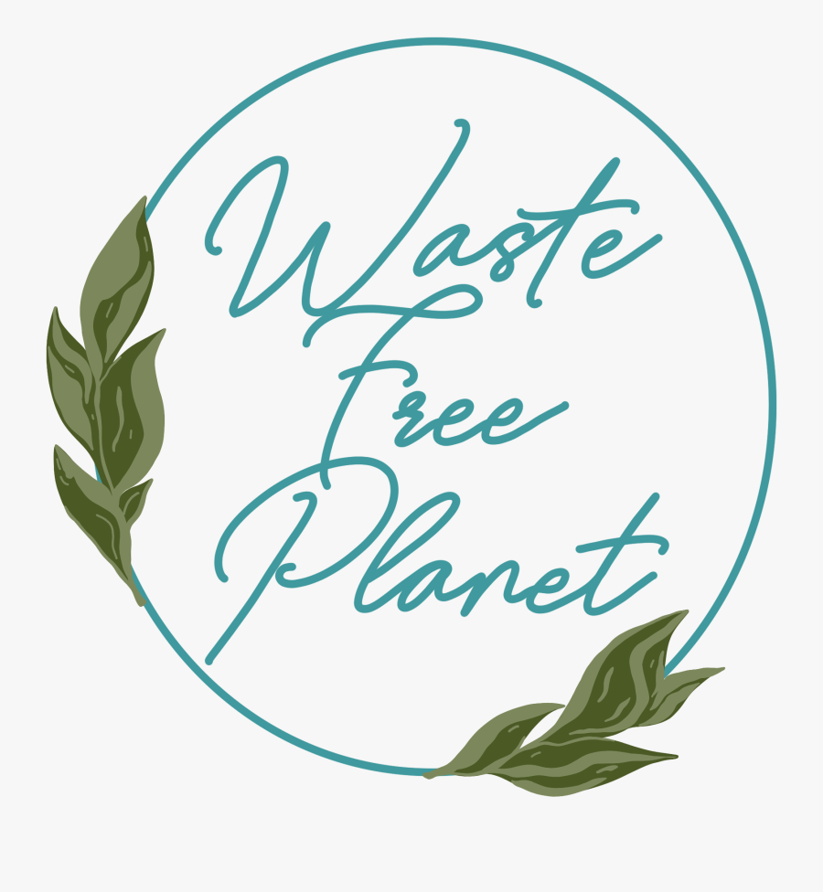 Waste Free Planet - Calligraphy, Transparent Clipart