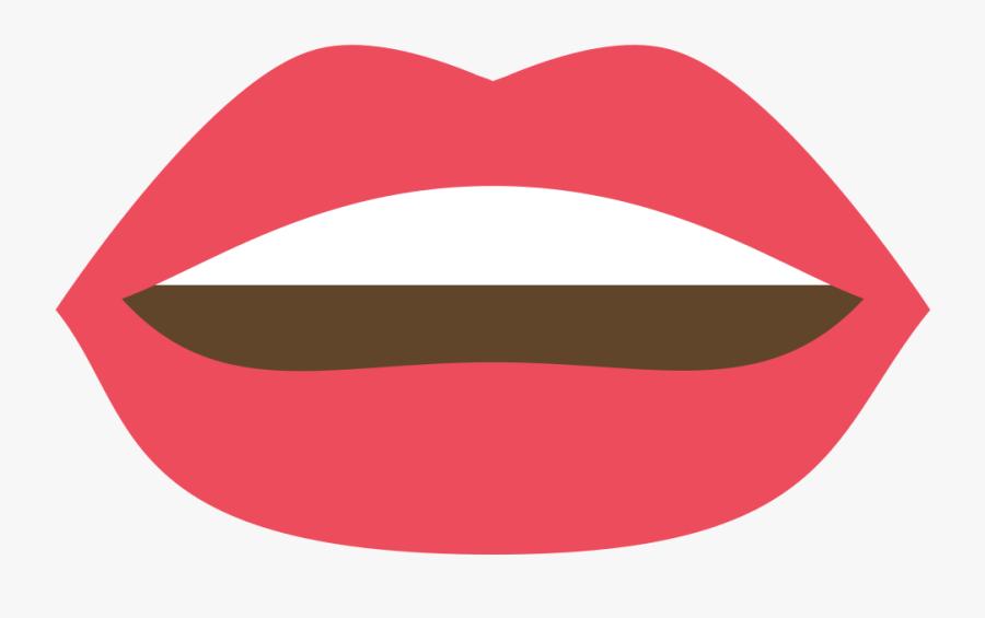 Art - Lips Discord Emoji Png, Transparent Clipart