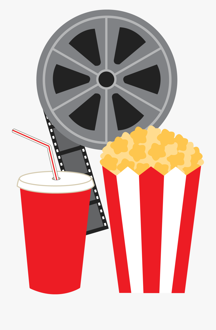 Clipart Of Movie, Films And Cinema - Movie Reel Clipart, Transparent Clipart