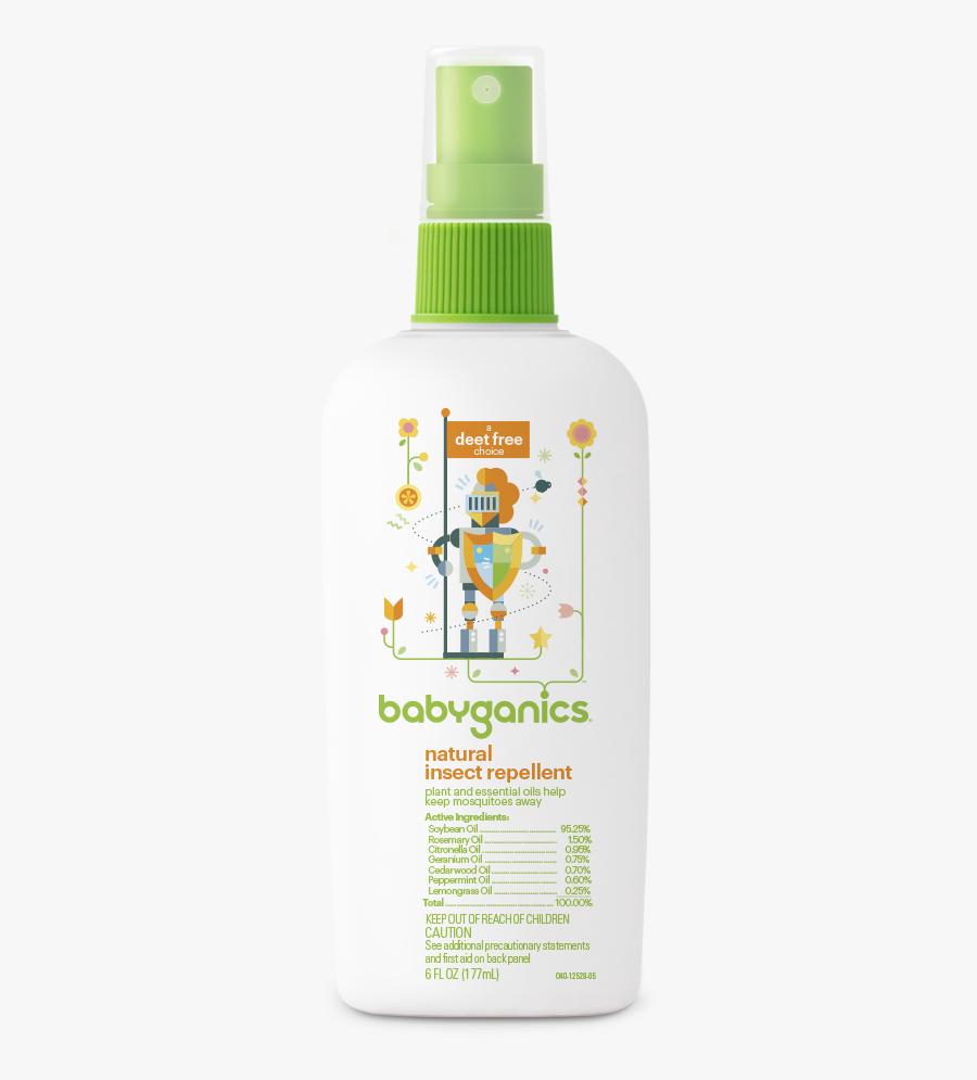 Babyganics Insect Repellent, Transparent Clipart