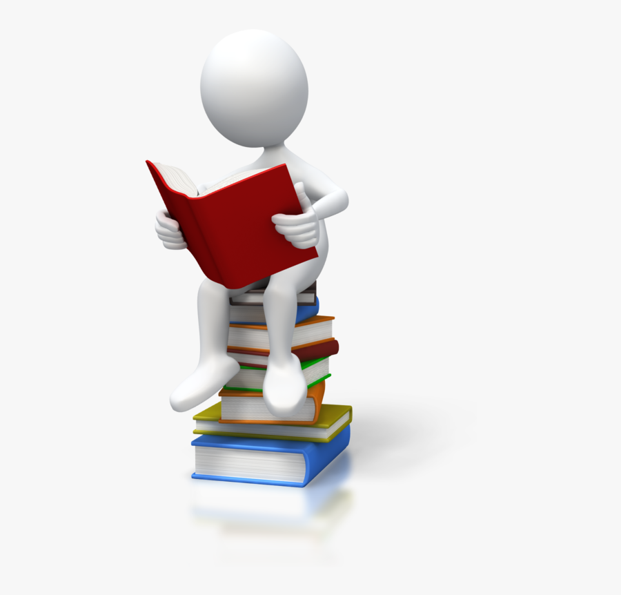 Figure Reading A Book - Etude De L Existant, Transparent Clipart