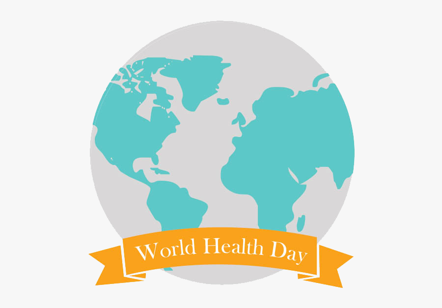 Happy World Health Day Clipart - World Health Day Logo Png, Transparent Clipart