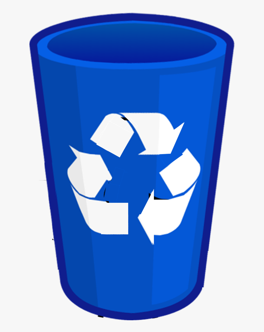 Image Recycling Newest Body - Blue Recycle Bin Png, Transparent Clipart