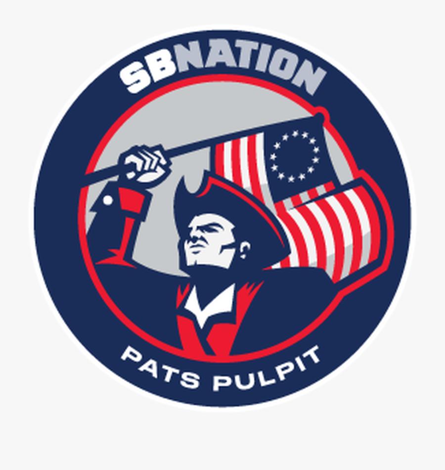 The Patriots Logo Png - Pats Pulpit, Transparent Clipart