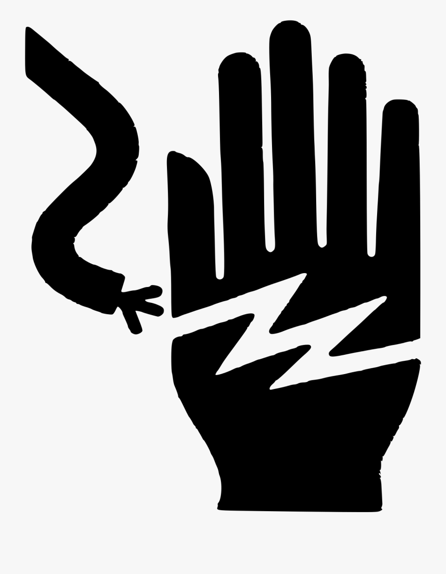 Electricity Clipart Be Careful With - Electrical Hazard Safety Vector, Transparent Clipart