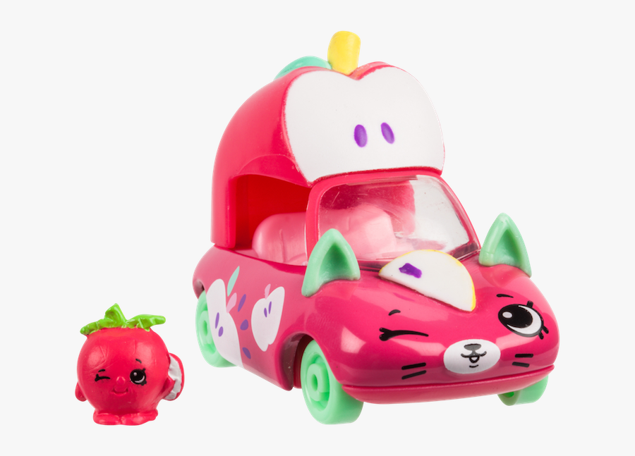 Shopkins Cutie Cars Series 4, Transparent Clipart