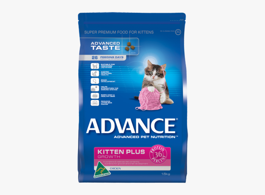 Kittens Transparent Food - Advance Cat Adult Total Wellbeing Fish 8kg, Transparent Clipart