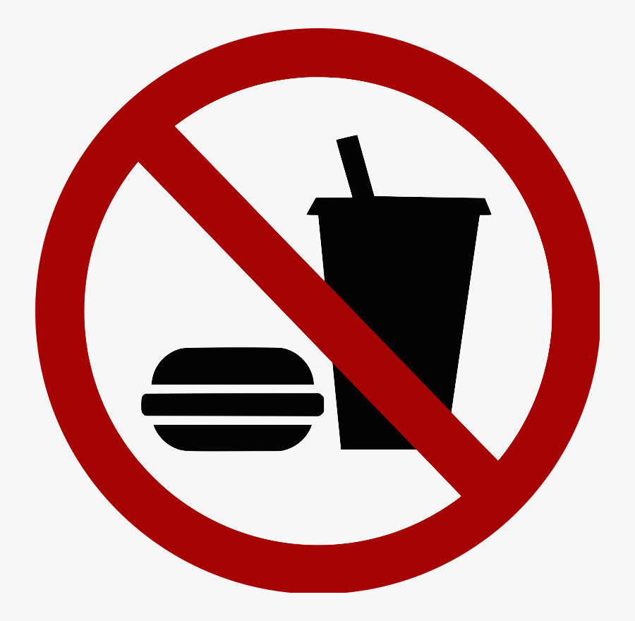 Sci Tech Lab Policies - No Food Or Drink Clip Art, Transparent Clipart
