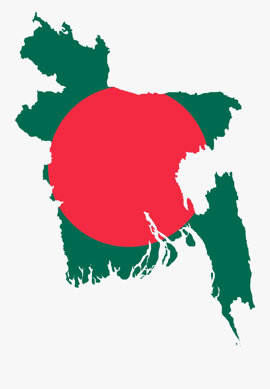 Flag Of Bangladesh - Solar Radiation In Bangladesh, Transparent Clipart