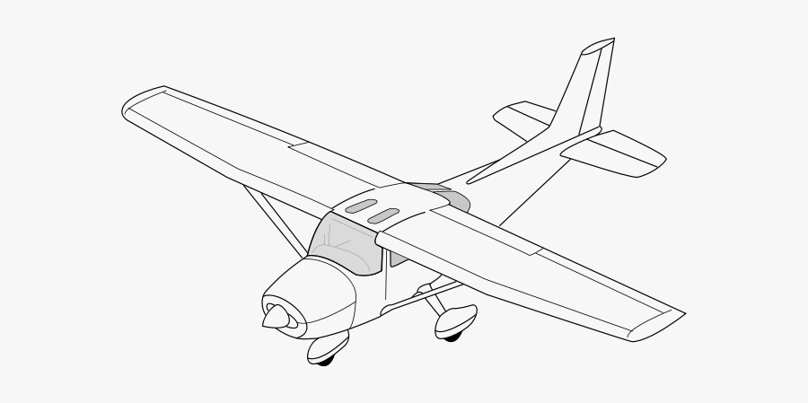 Cessna Drawing Diagram Isometric Drawing Of Aircraft Free