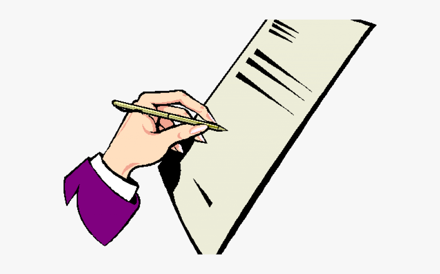 Clipart Of Document, Documents And Documentation - Line Art, Cliparts &  Cartoons - Jing.fm
