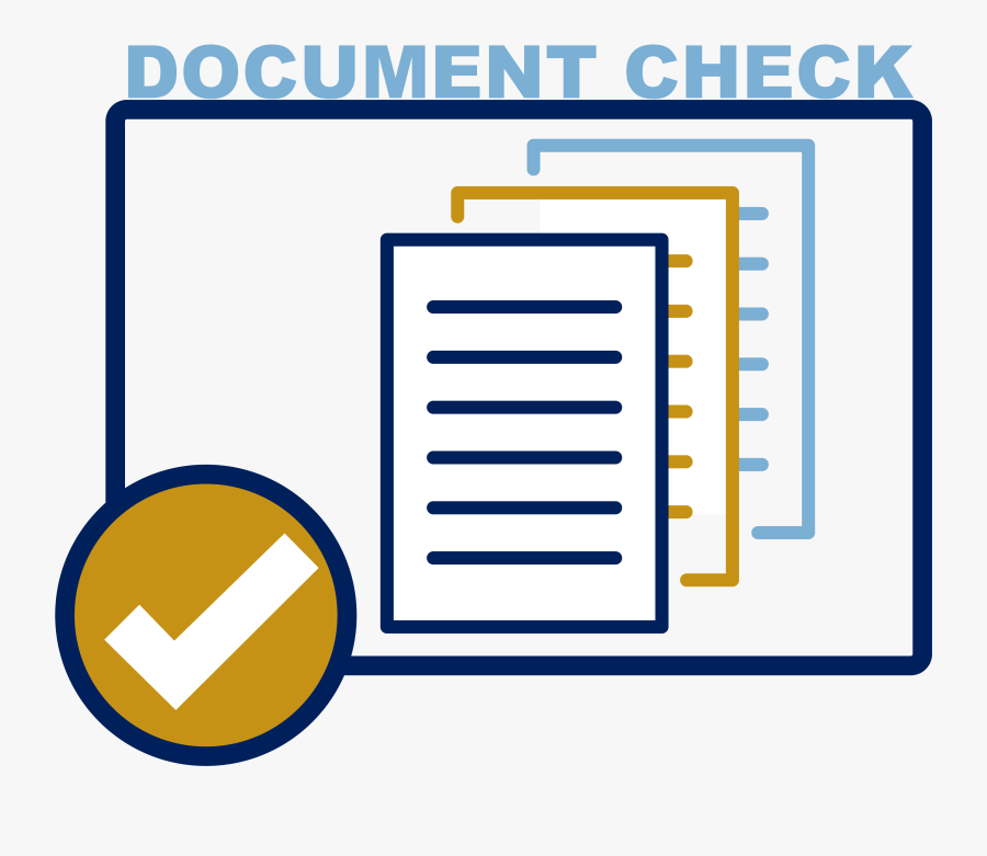 Document Check Logo - Penndot Real Id Document Check, Transparent Clipart